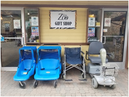 Strollers and Wheelchair Rentals at the Erie Zoo