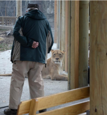 Man's Daily Trips Have Made Him a Beloved Visitor at Erie Zoo