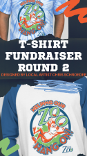 Helping Our Zoo Hang On T-shirt Fundraiser